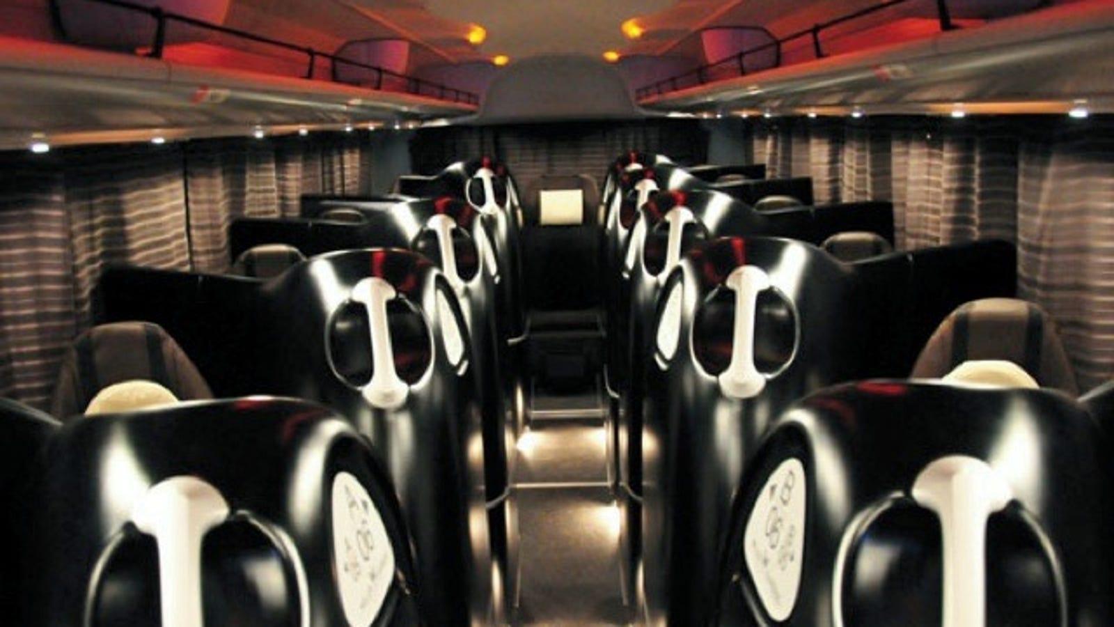 Japanese Alien Pod Bus Provides 12 Laps Of Luxury-9670