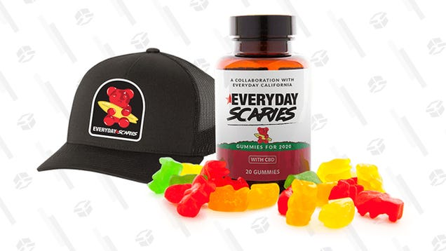 Sunday Scaries  10mg CBD Gummy Bundle Aims to Put an End to, Well, Sunday Scaries for $37 (Baseball Cap Included)