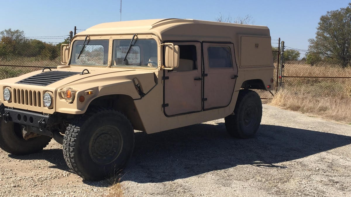 Make Your Military Surplus Hummer Street Legal: Not Easy, Not Impossible