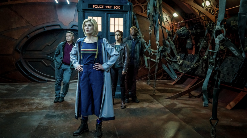 The Doctor (Jodie Whittaker) in the upcoming season finale of Doctor Who.