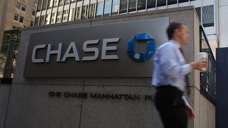 A Chase bank.