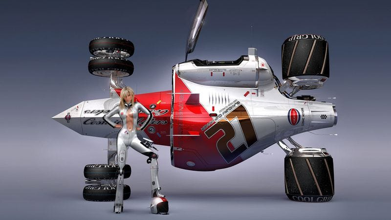 Illustration for article titled Michael Bay developing movie based on picture book of cool cars and sexy babes
