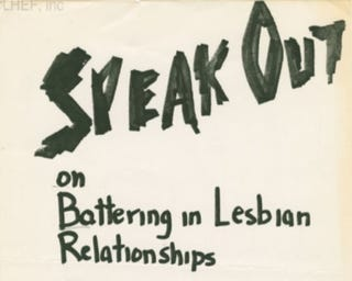 Illustration for article titled Rape between queer women
