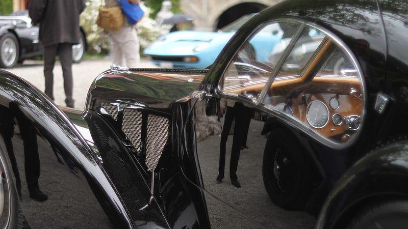 Illustration for article titled Ralph Lauren's $40 Mil Bugatti Wins World's Most Prestigious Car Show