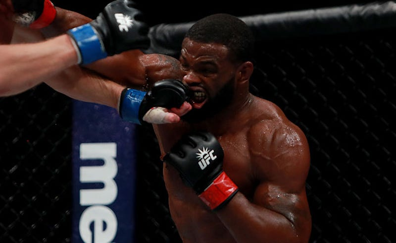 Illustration for article titled In The Cage And Out, Tyron Woodley Refuses To Play The UFC's Game