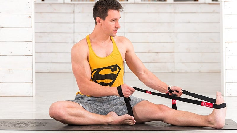 Yoga EVO Elastic Stretching Strap, $14
