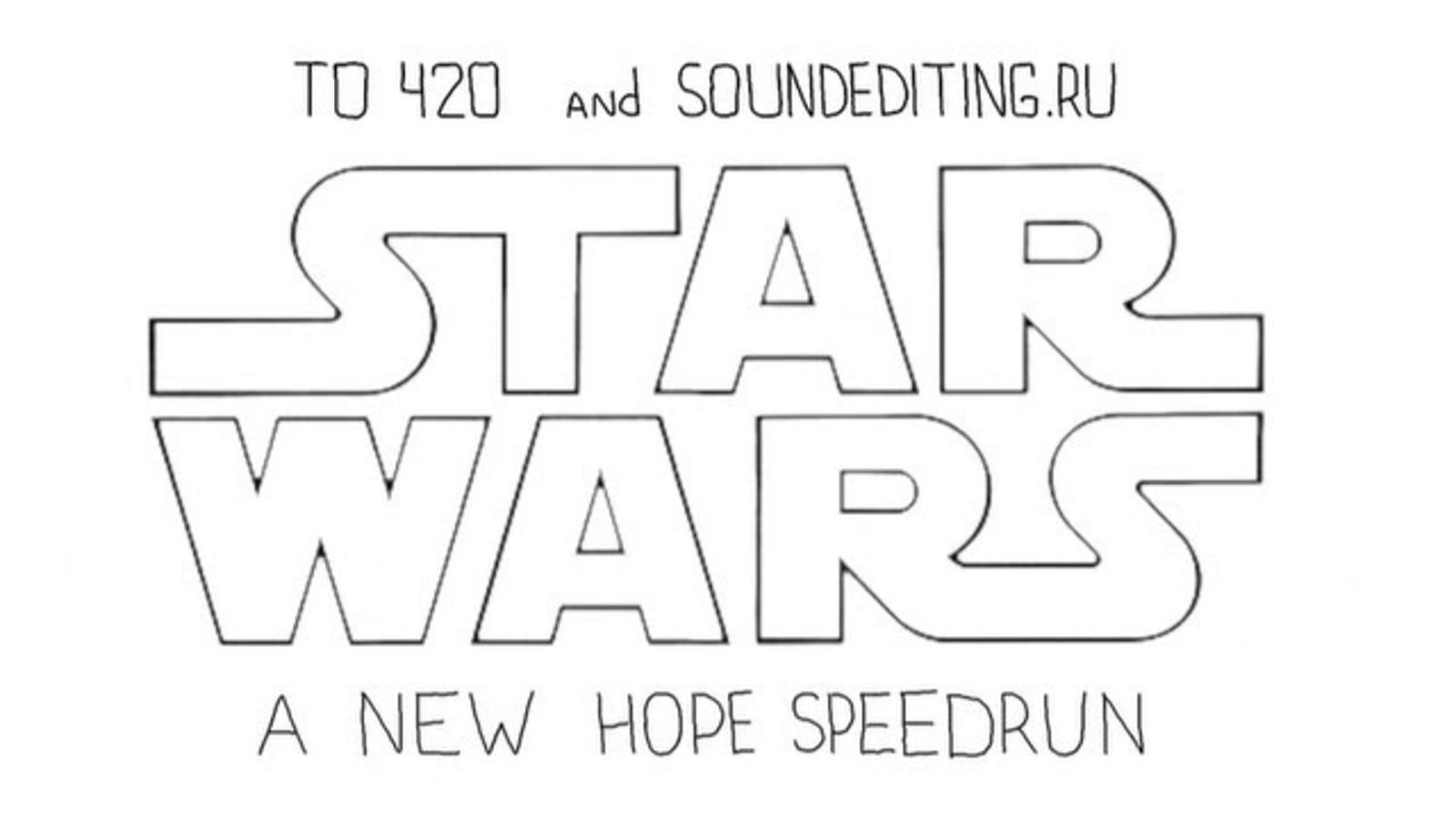 60 geniales segundos que resumen a Star Wars: Episodio IV