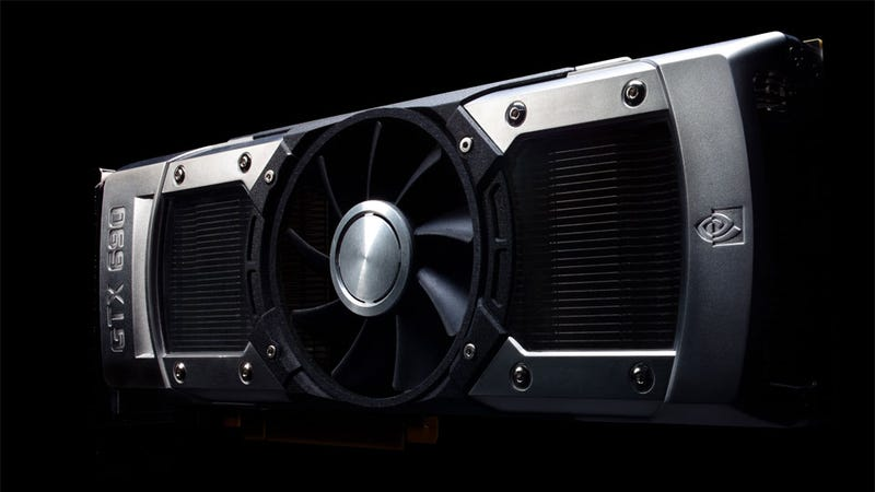 Illustration for article titled Meet Nvidia's New Flagship Card, the $999 GeForce GTX 690