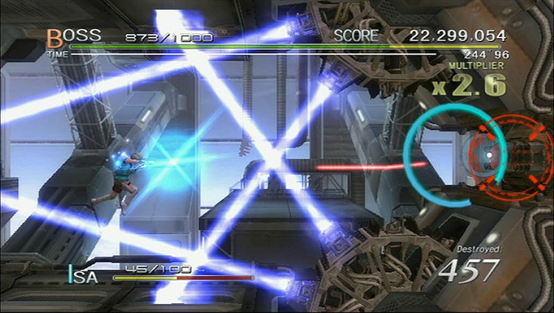 Illustration for article titled Sin & Punishment: Star Successor Review: #1 With A Bullet