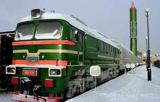 Russias Terrifying Nuke Trains Will Be Roving The Rails By 2018