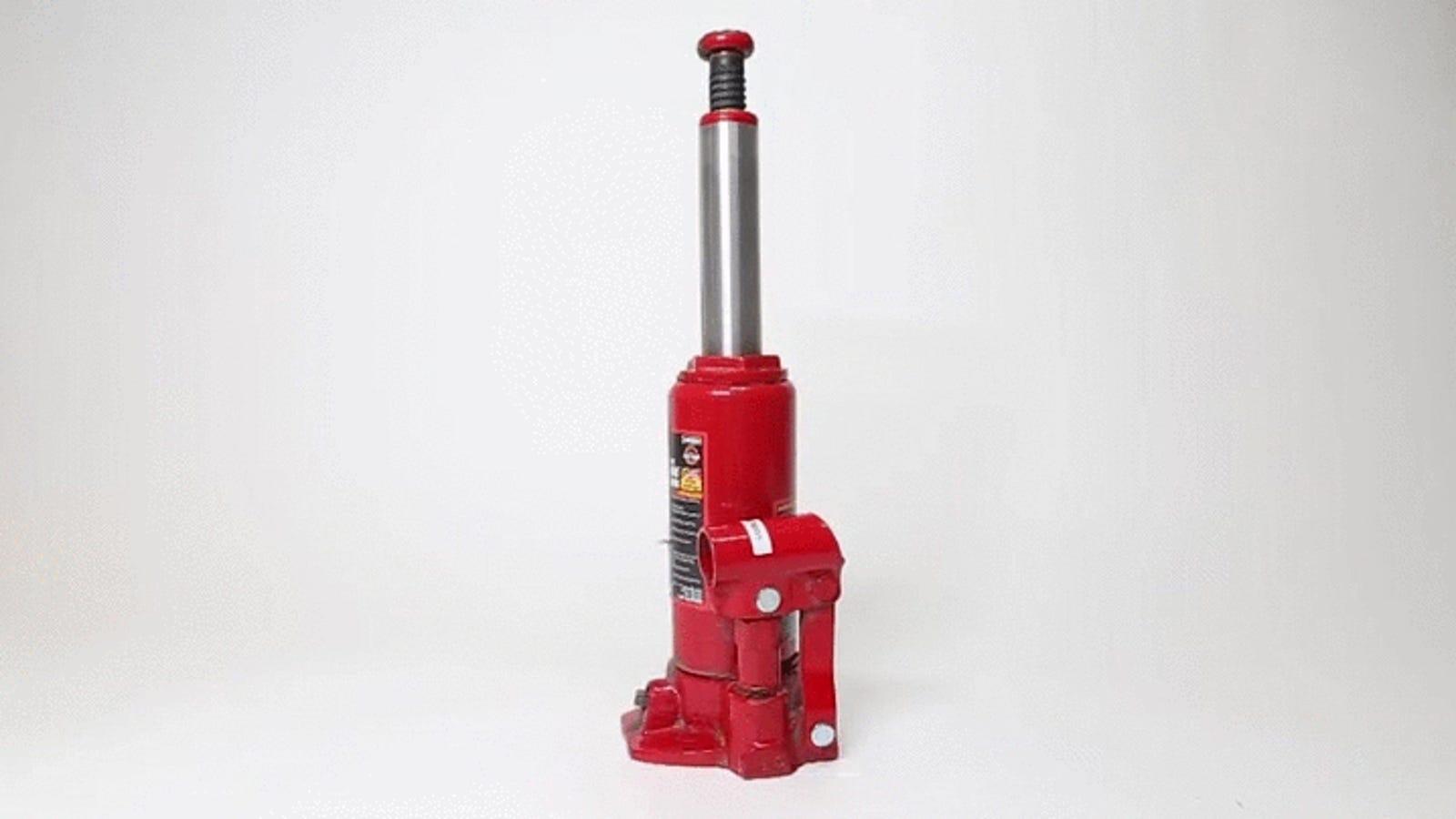 Watch a Waterjet Cut a Hydraulic Press In Half