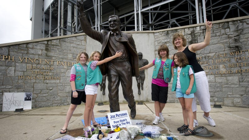 Joe Paterno admitted he heard an earlier Sandusky sexual abuse claim