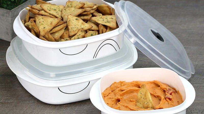 Corelle Coordinates Six Piece Microwave Cookware Set | $10 | Amazon