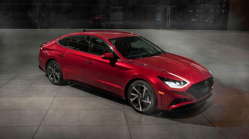 The regular 2020 Hyundai Sonata, not the upcoming N Line.