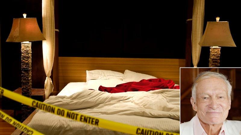 Illustration for article titled Officials Investigating Hugh Hefner's Death Suspect Foreplay