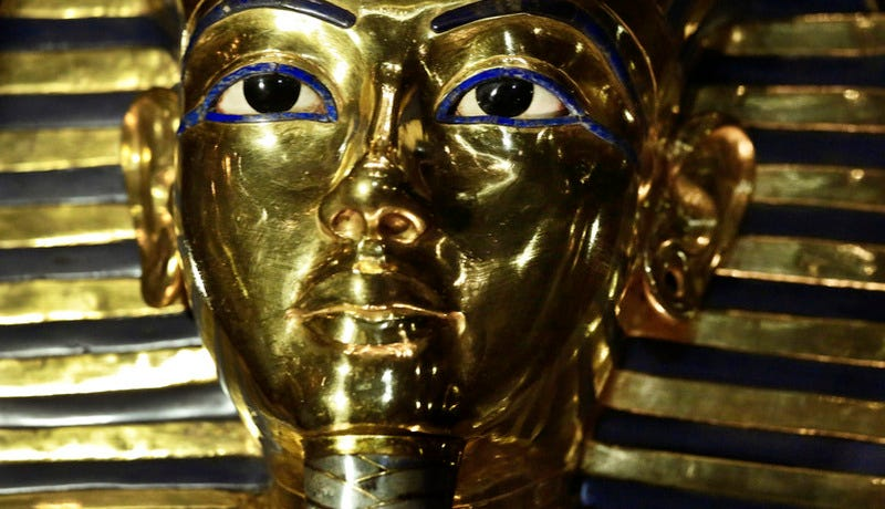 Illustration for article titled King Tut's Mask is Back On Display Following That Botched Repair Attempt