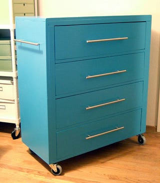 a rolling tool chest is a functional way to store your tools but itu0027s not always the most attractive option for your home if it needs to inhabit a space