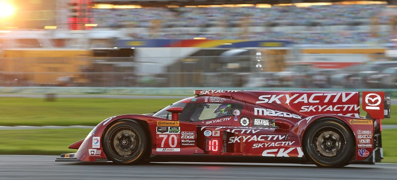 Illustration for article titled Bye, Bye, Diesel: Mazda's United SportsCar Prototype Is Getting Gassy