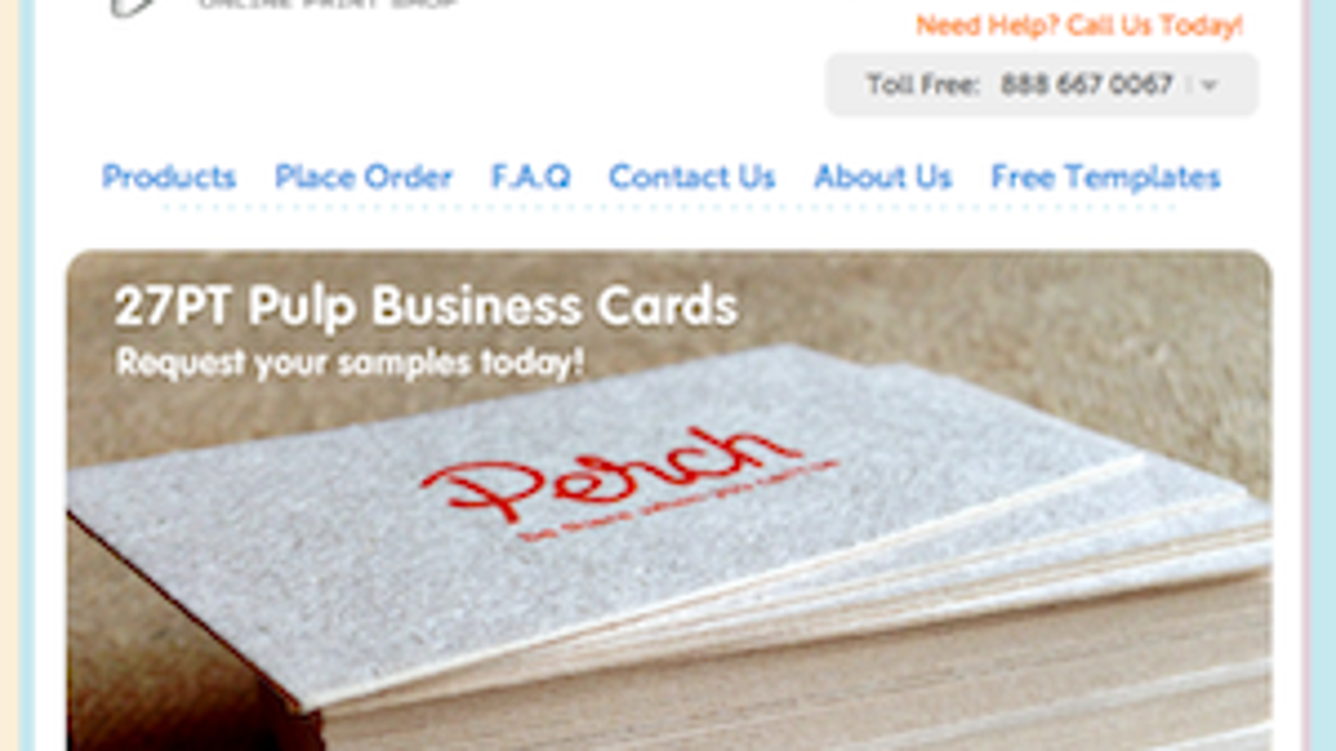 Five best business card printing sites reheart Gallery