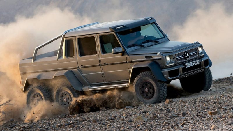 The mercedes benz g63 6x6 is totally sold out for Mercedes benz g class 6x6 price