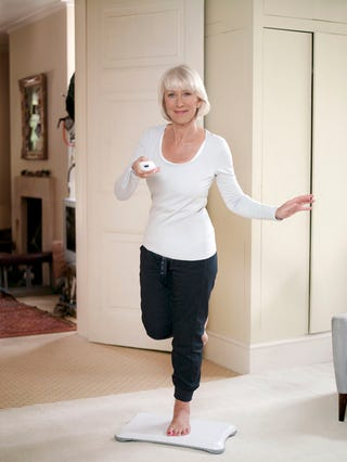 Illustration for article titled Helen Mirren, Master Of The Wii