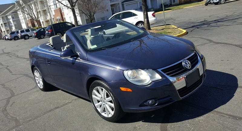 2007 volkswagen eos problems