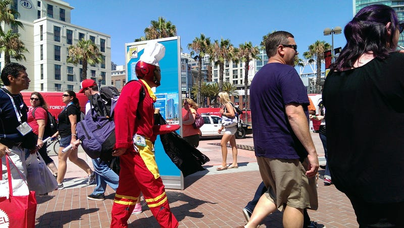 Illustration for article titled The Laziest Comic-Con Cosplay Gallery, Or The Best?