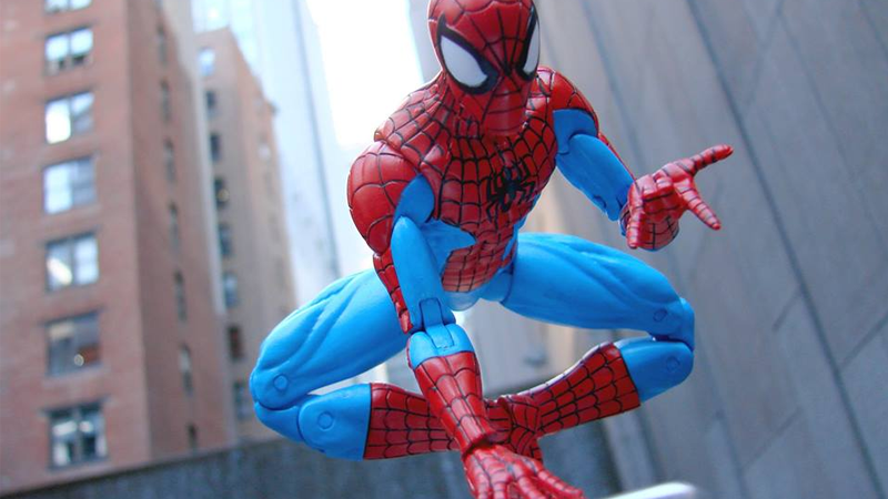 Illustration for article titled This Spectacular Spider-Man Figure Lives Up to the Name