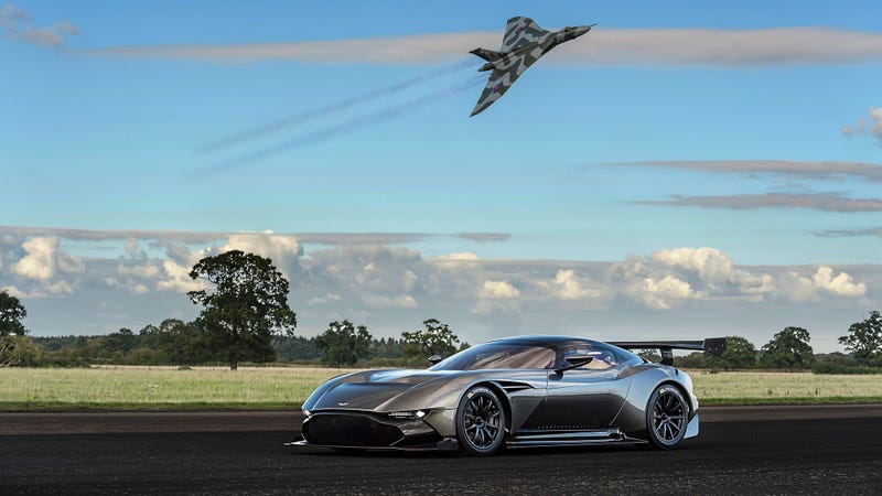 Illustration for article titled Your Ridiculously Awesome Aston Martin Vulcan Wallpaper Is Here