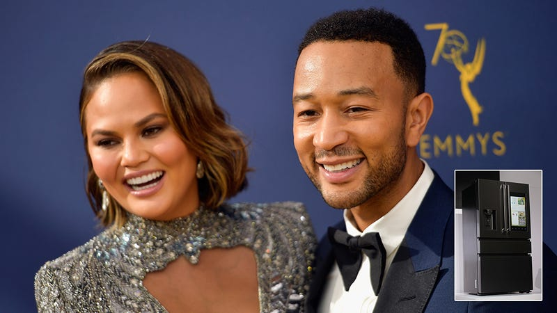 Relationship Goals: John Legend And Chrissy Teigen Have Both Had Their Consciousness Uploaded Into The Same Smart Fridge