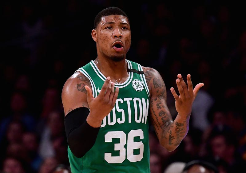 "Illustration for article titled Marcus Smart Is Reportedly ""Disgusted"" At Lack Of Communication From Celtics"