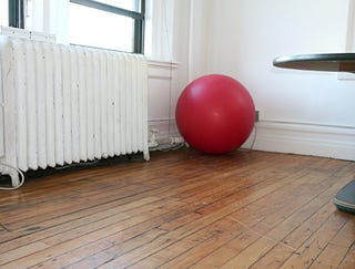 Illustration for article titled Excercise Ball All The Way Over There