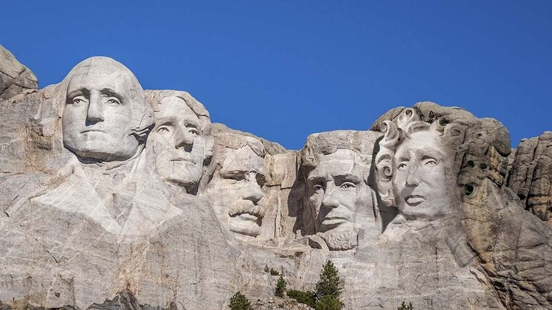 Illustration for article titled Finally! They're Adding A Female President To Mount Rushmore