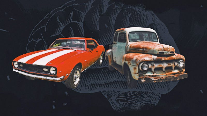 Illustration for article titled What Happens When Your Life's Best And Worst Memories All Revolve Around Cars?
