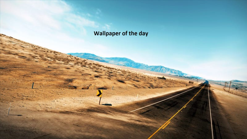 Illustration for article titled Wallpaper of the day