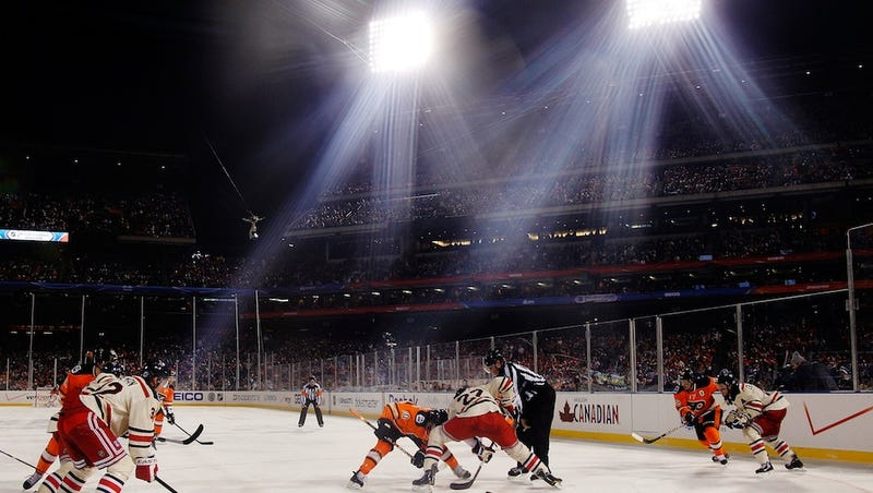 Illustration for article titled The NHL Will Play Six Outdoor Games Next Year