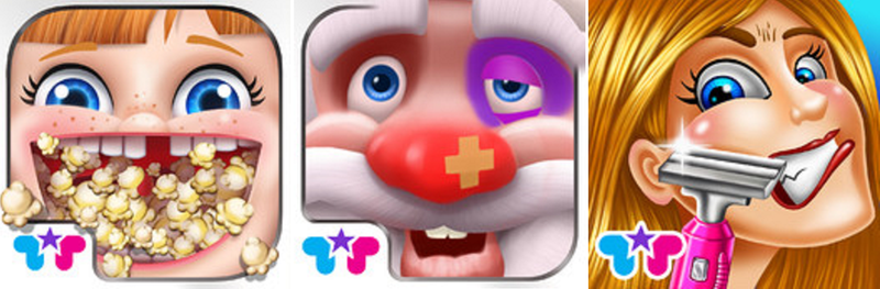 Illustration for article titled This Developer's App Icons Will Haunt Your Dreams