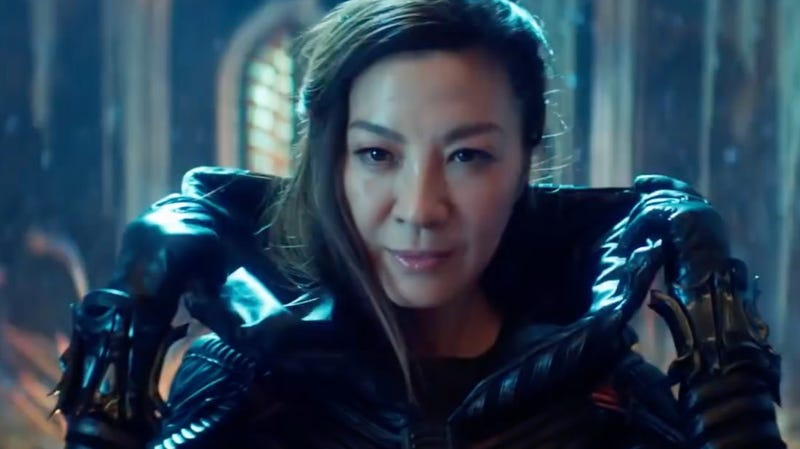 Michelle Yeoh in Star Trek: Discovery.