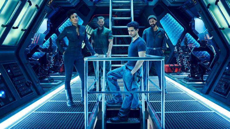 Illustration for article titled Syfy sends The Expanse back into the cold void of space
