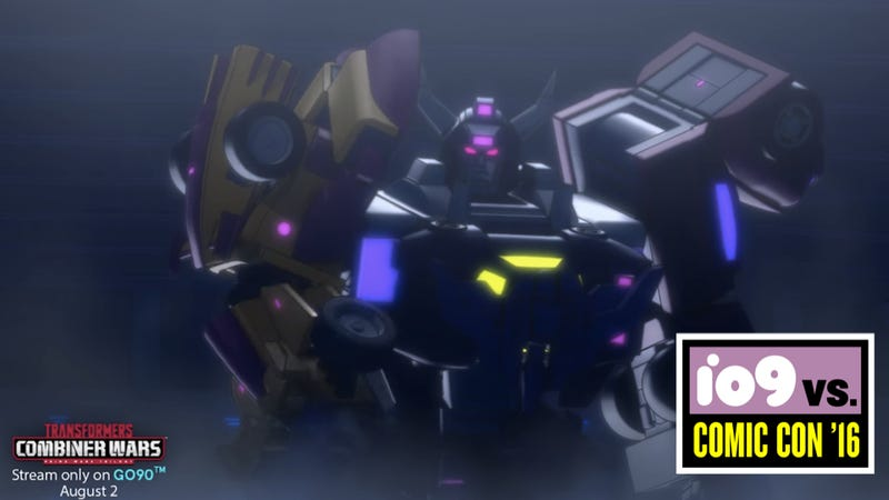 the transformers combiner wars cartoon has its first mind