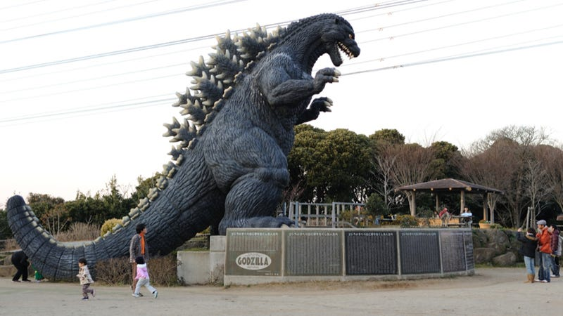 Illustration for article titled Japan Has a Giant Godzilla You Can Play With