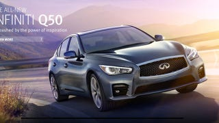Illustration for article titled 2014 Infiniti Q50: This Is It