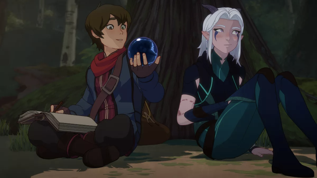 The Dragon Prince Returns For a Second Season Next Month