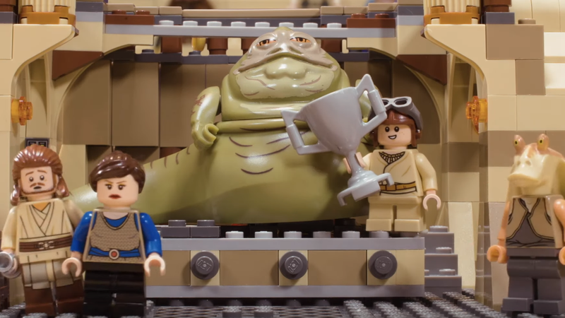 With the Help of Legos, This Video Explores a Series of Silly Star Wars What-Ifs