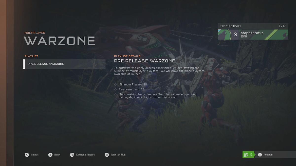 Halo 5 Day Zero Impressions: Mediocre Campaign, Promising