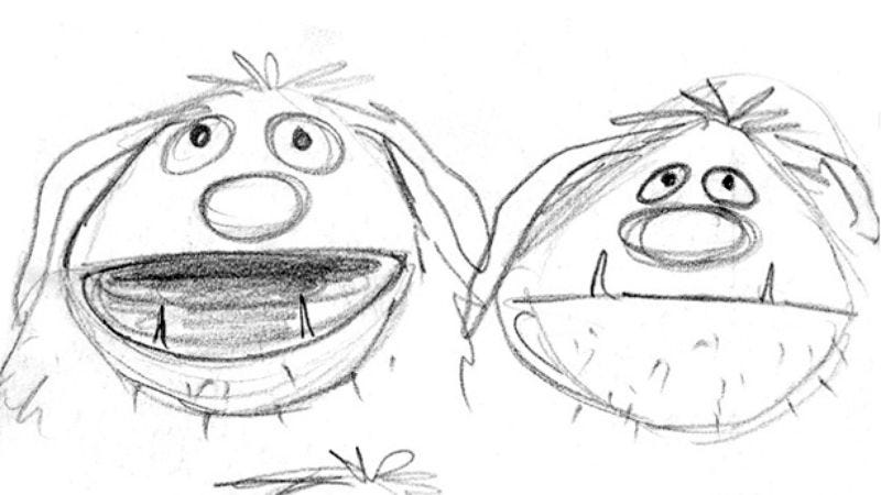 Illustration for article titled Read This: Rare concept drawings from Muppets creator Jim Henson
