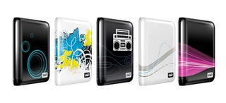 Illustration for article titled WD's My Passport Essential Hard Drives Get 5 Limited Edition Designs
