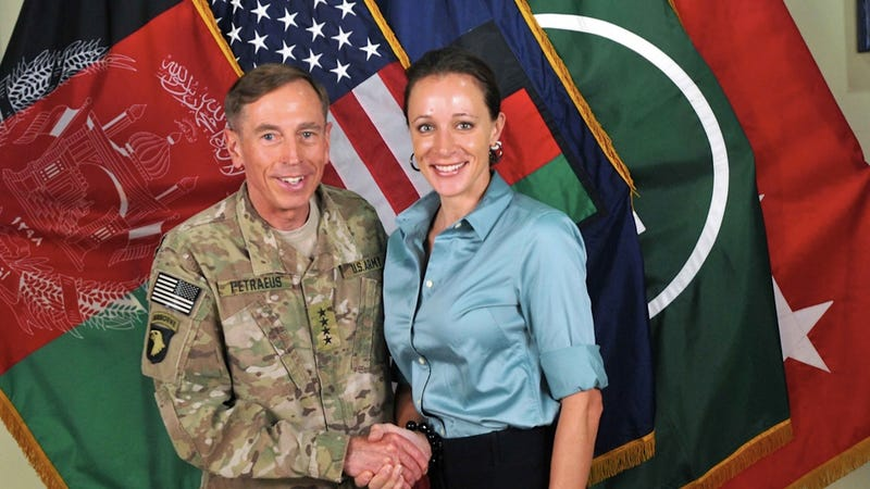 Illustration for article titled Paula Broadwell Had Aspirations for a Career in Politics or Show Business, Which Are Pretty Much the Same Field Anyway