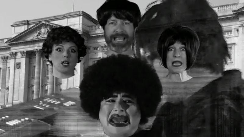 "Illustration for article titled Watch the video for Puscifer's Tim And Eric-like take on Queen's ""Bohemian Rhapsody"""