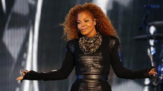 Janet Jackson performing in Dubai on March 26, 2016. Sources tell Entertainment Tonight that the soon-to-be-50-year-old singer is pregnant.KARIM SAHIB/AFP/Getty Images